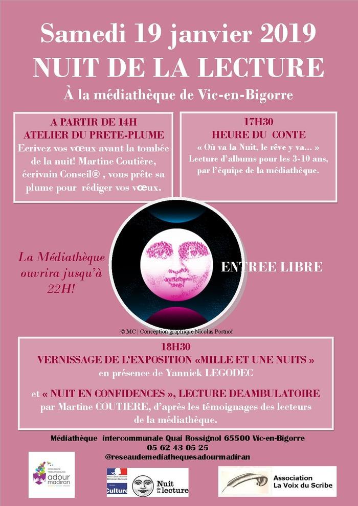 Nuit de la lecture à Vic-en-Bigorre