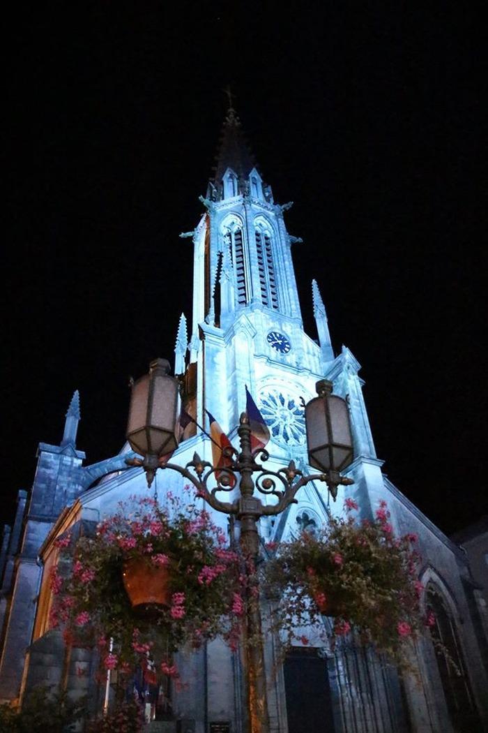 Eglise saint Amé de PLOMBIERES LES BAINS - Diocèse de Saint Dié - 88