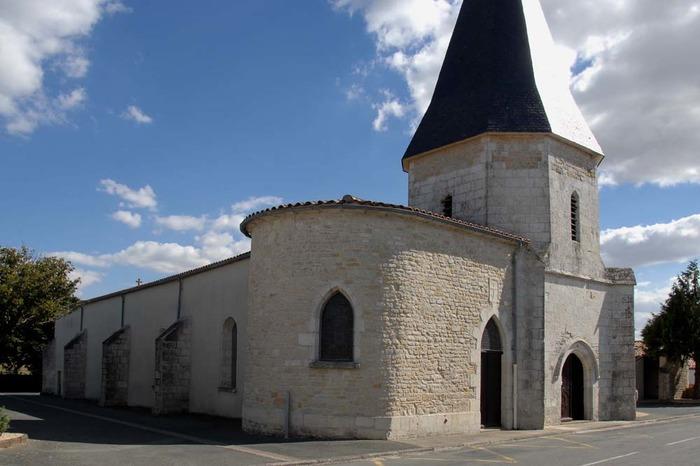 Eglise Saint Nicolas de Charron - Diocèse de la Rochelle-Saintes - 17