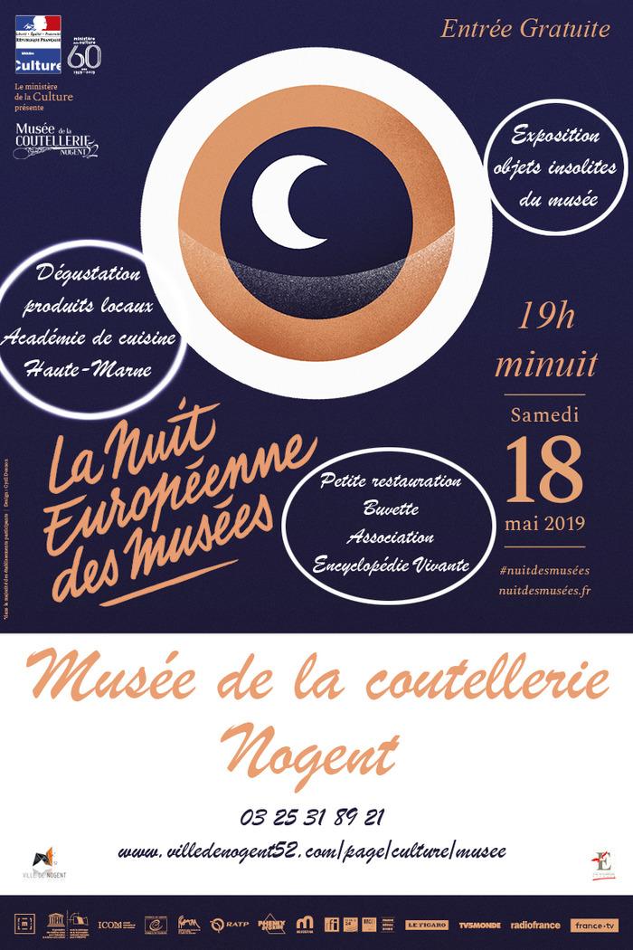 Nuit des musées 2019 -Nuit européenne des musées