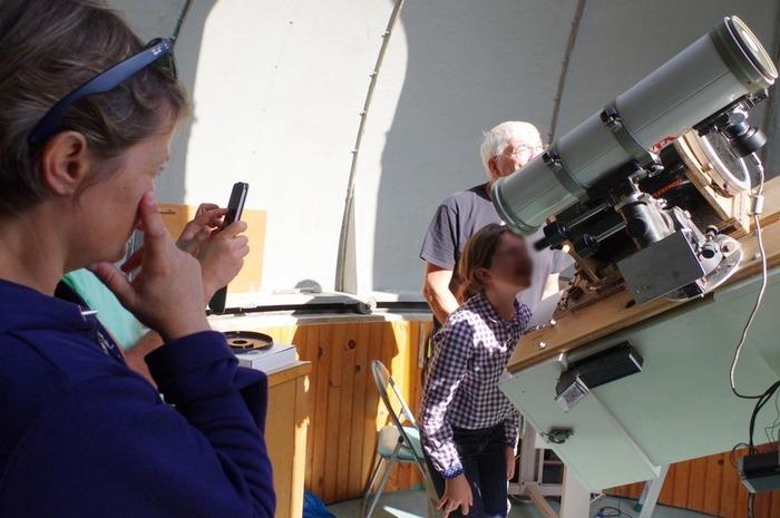 Journées du patrimoine 2018 - Observation du soleil