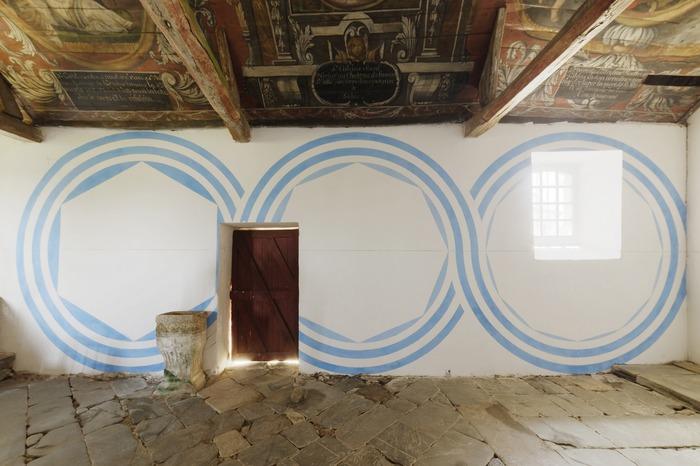 Journées du patrimoine 2018 - Oeuvre contemporaine de Henri Jacobs à la chapelle Sainte-Tréphine