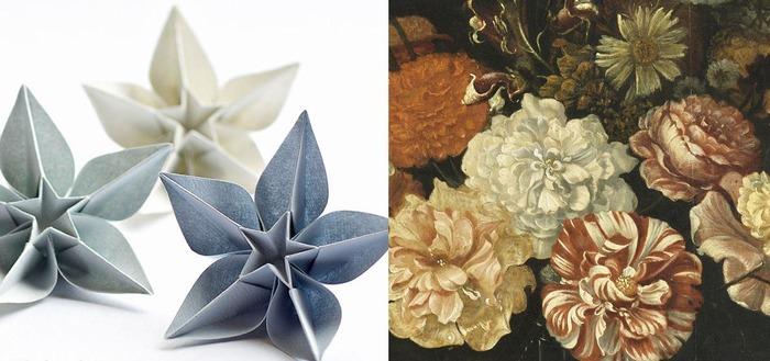 Crédits image : Fleurs de Johannes Fabritius, RMN/Benoit Touchard