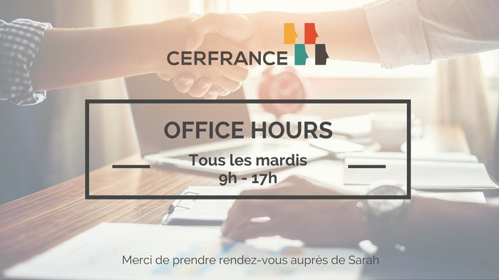 Office Hours - CERFrance