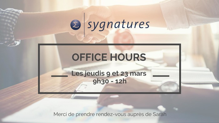 Commentez office hours sygnatures retrouvez le cabinet d 39 audit et de conseil sygnatures au - Cabinet d audit toulouse ...