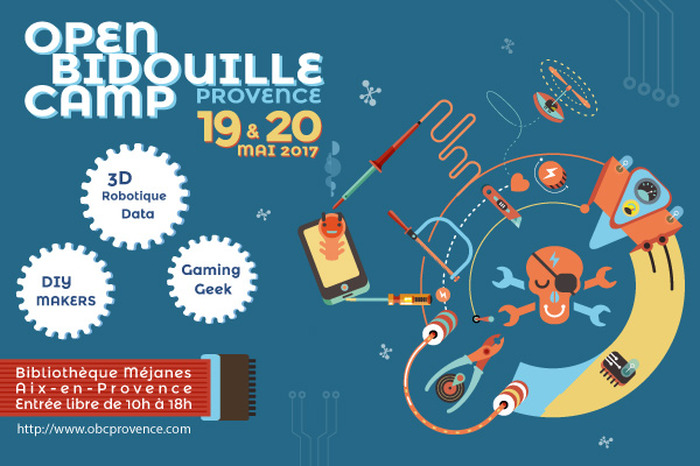 Open Bidouille Camp Provence 2017