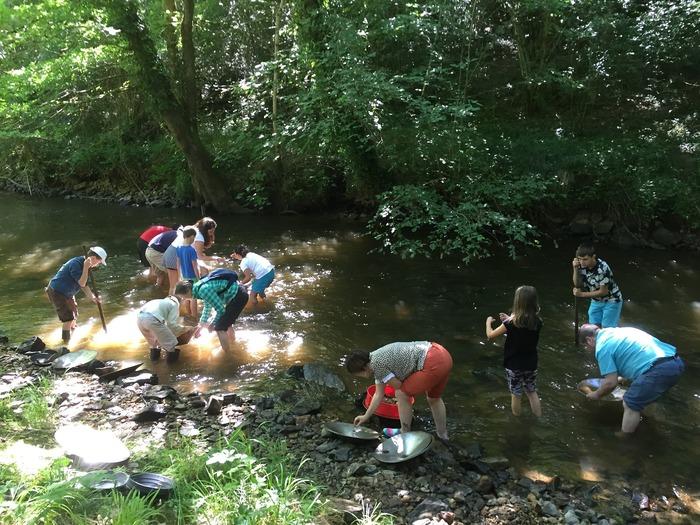 Journées du patrimoine 2018 - Orpaillage en rivière