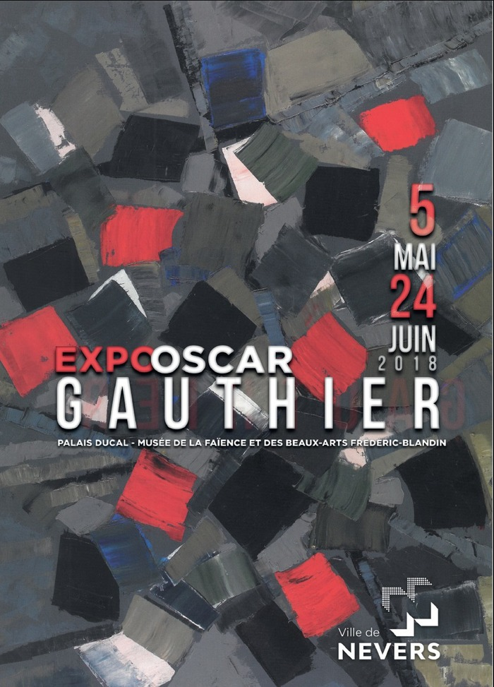 EXPOSITION OSCAR GAUTHIER (1921-2009) Un pionnier de l'abstraction lyrique