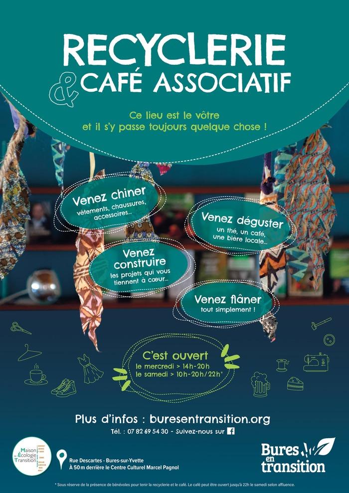 Annulé | Ouverture de la recyclerie textile et du café associatif par Bures en transition