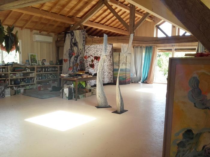 Journées du patrimoine 2018 - Ouverture d'un atelier d'artiste avec contribution à une oeuvre collective