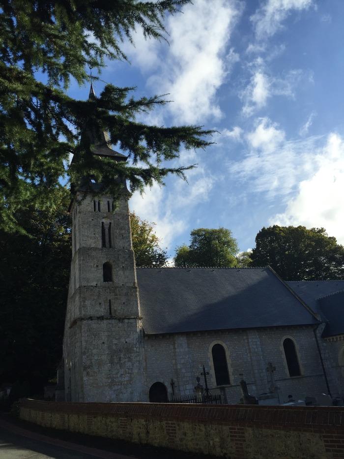 Crédits image : © Église Saint-André d'Hébertot