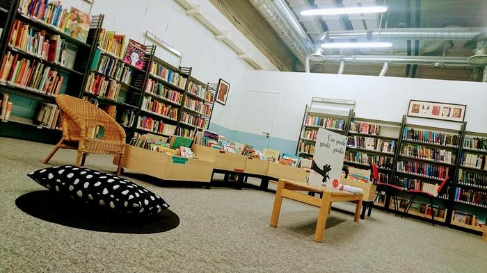 Ouverture de la bibliothèque éphémère