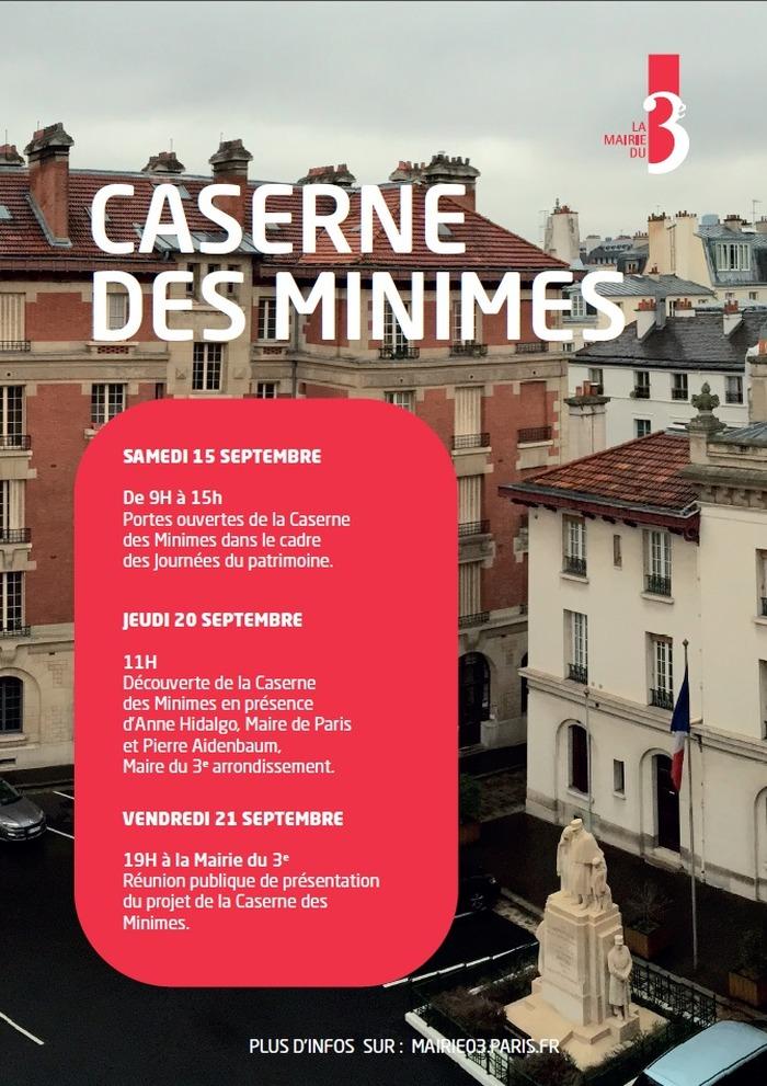 Journées du patrimoine 2018 - Ouverture de la caserne des Minimes