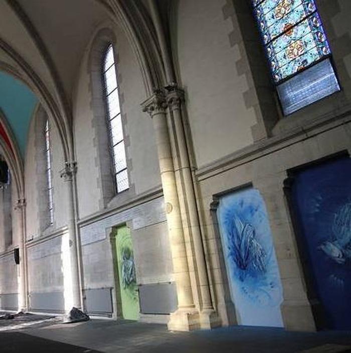 Journées du patrimoine 2018 - Ouverture de l'ancienne chapelle de l'Adoration Réparatrice