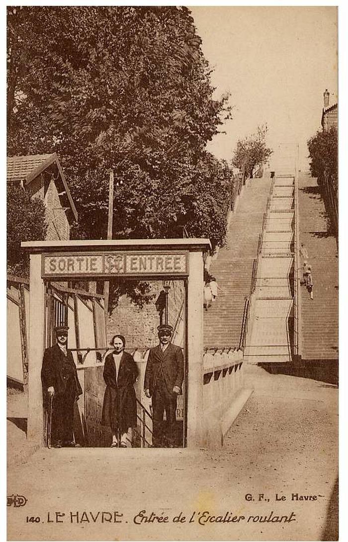 Journées du patrimoine 2018 - Ouverture de la gare basse de l'escalier roulant Montmorency