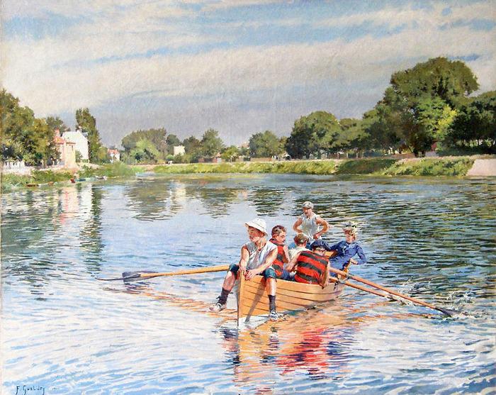 Journées du patrimoine 2018 - Ouverture de la nouvelle exposition : Ferdinand Gueldry, peintre de l'eau et de la lumière