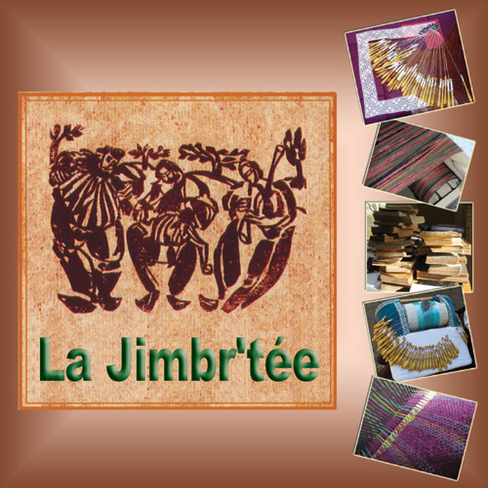 Journées du patrimoine 2018 - Atelier tissage, dentelle et reliure de La Jimbr'tée.