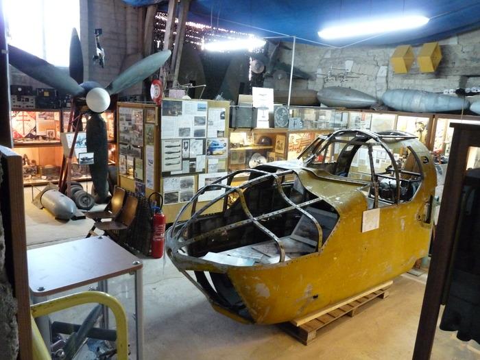 Journées du patrimoine 2018 - Découverte du musée du terrain d'aviation de Condé/Vraux 39/45