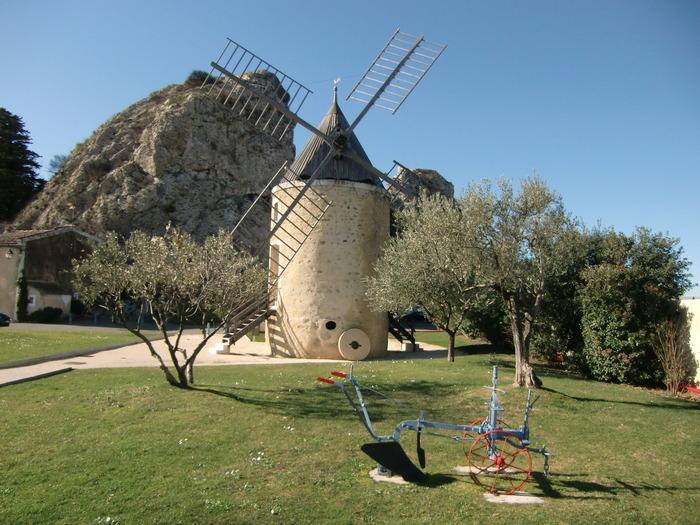 Journées du patrimoine 2018 - Ouverture spéciale du moulin de Pierrelatte.