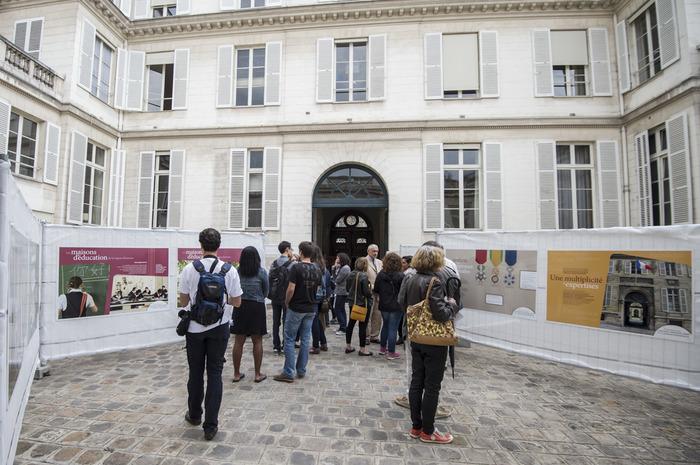 Journées du patrimoine 2018 - Panorama de la grande chancellerie de la Légion d'honneur