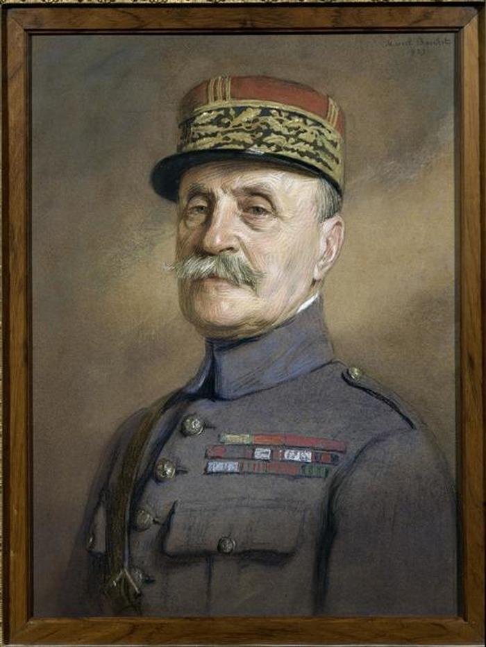 Crédits image : Le maréchal Foch vers 1919 par Marcel Baschet (c) musée de l'Armée - Paris / dist. RMNGP