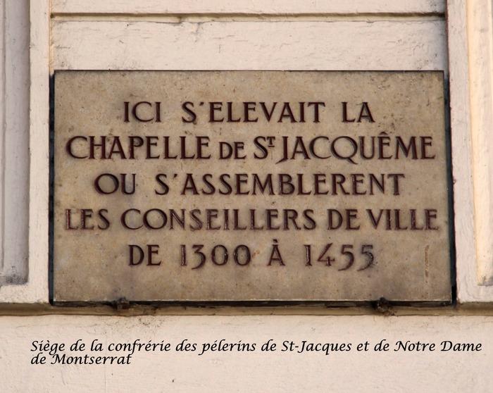 Journées du patrimoine 2017 - Parcours jacquaire dans Lyon