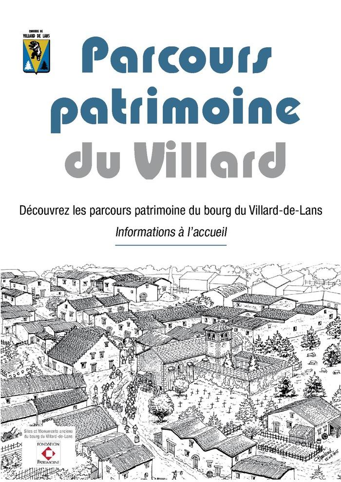 Journées du patrimoine 2017 - Parcours patrimoine conté