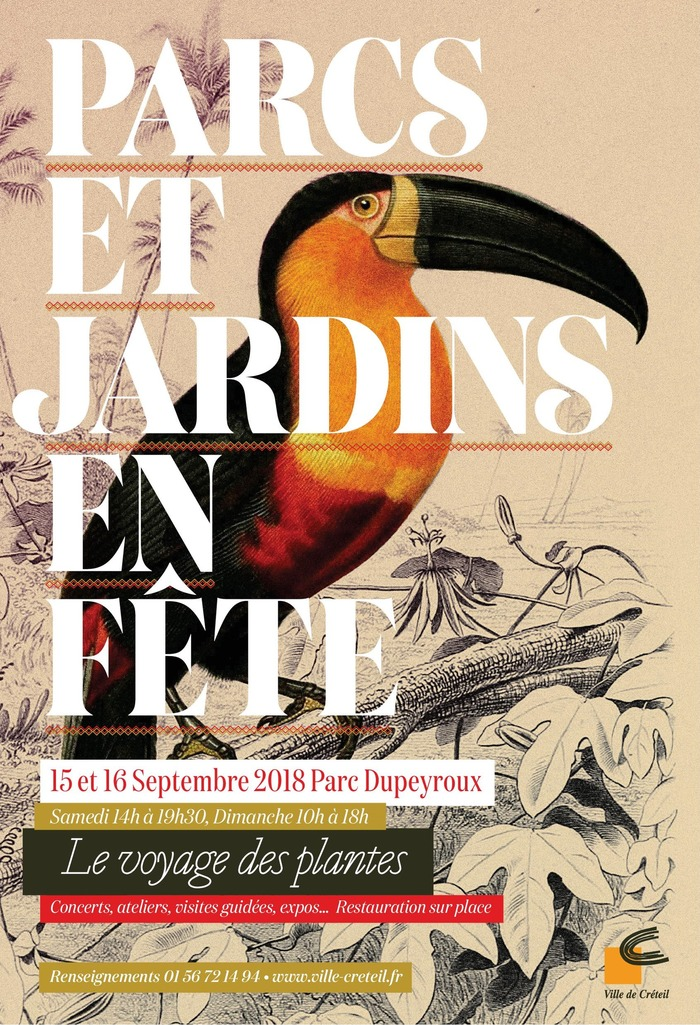 Journées du patrimoine 2018 - Parcs et Jardins en Fête - visite du Centre horticole de Mandres-les-Roses