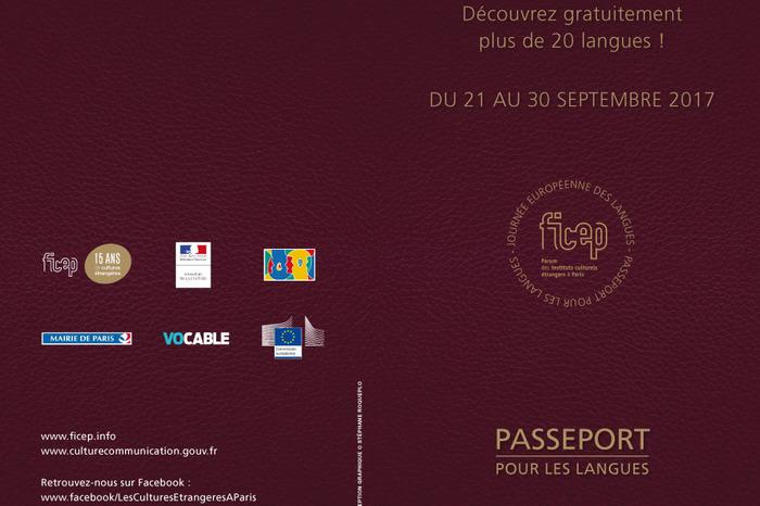 Passeport pour les langues 2017