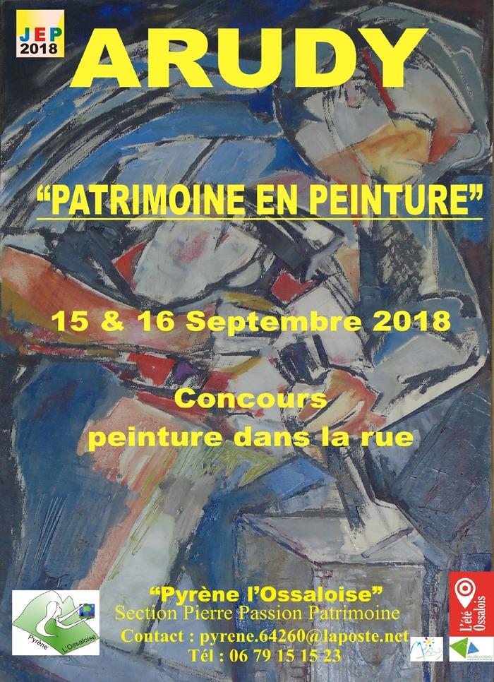 Journées du patrimoine 2018 - Patrimoine et peinture
