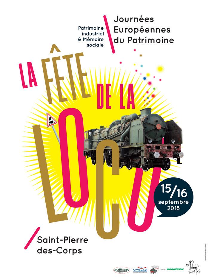 Journées du patrimoine 2018 - Patrimoine industriel - Visite du chantier de restauration de la locomotive à vapeur pacific Chapelon 231 e 41.
