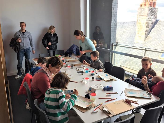 Journées du patrimoine 2018 - Animation jeune public : Peindre à la manière de Gernez