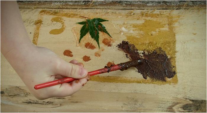 Peintures naturelles