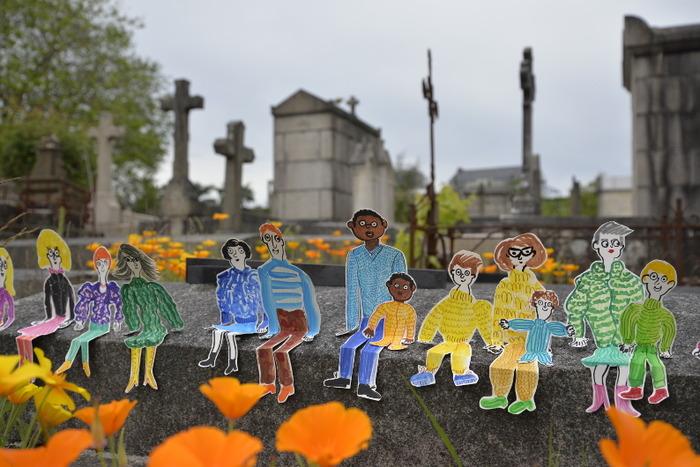 """Journées du patrimoine 2018 - Performance : """"Art de vivre le cimetière"""""""