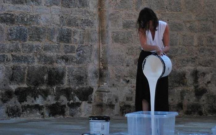 Journées du patrimoine 2018 - Performance artistique d'Emilie Franceschin