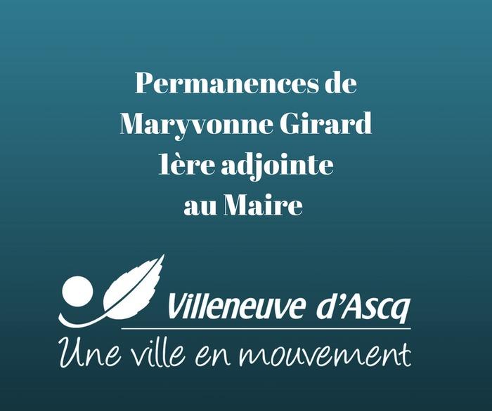 Permanences de Mme Girard