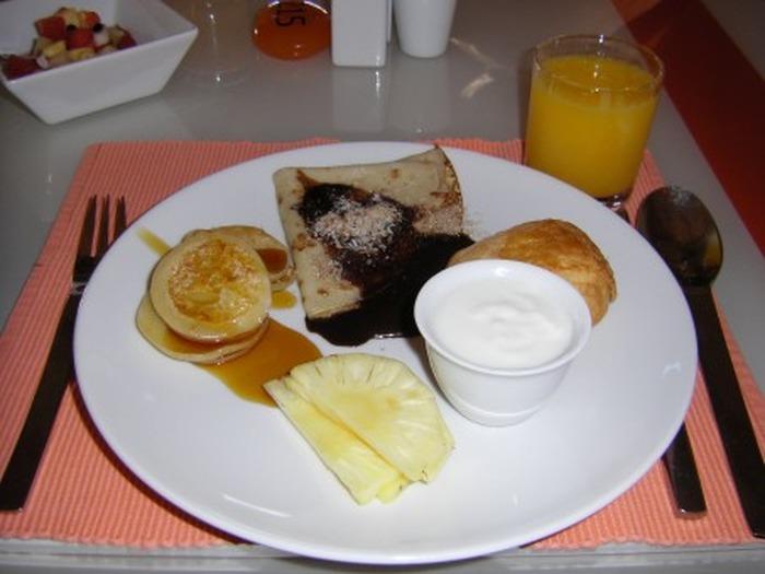 Petit déjeuner européen