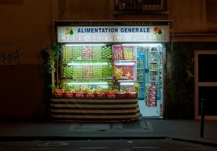 Exposition : Petite épicerie de nuit