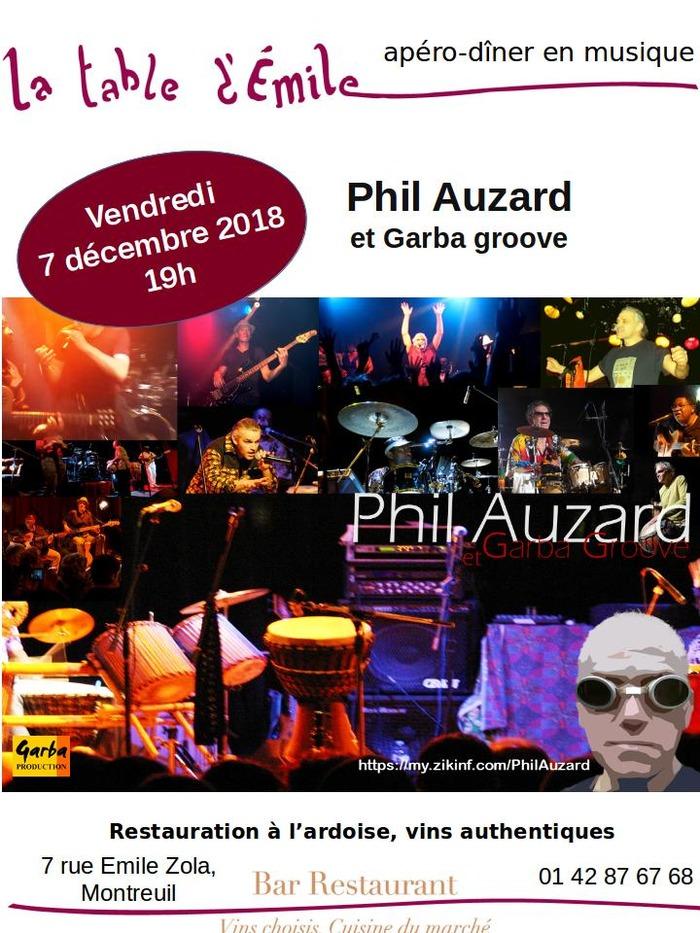 Phil Audard & Garba Groove
