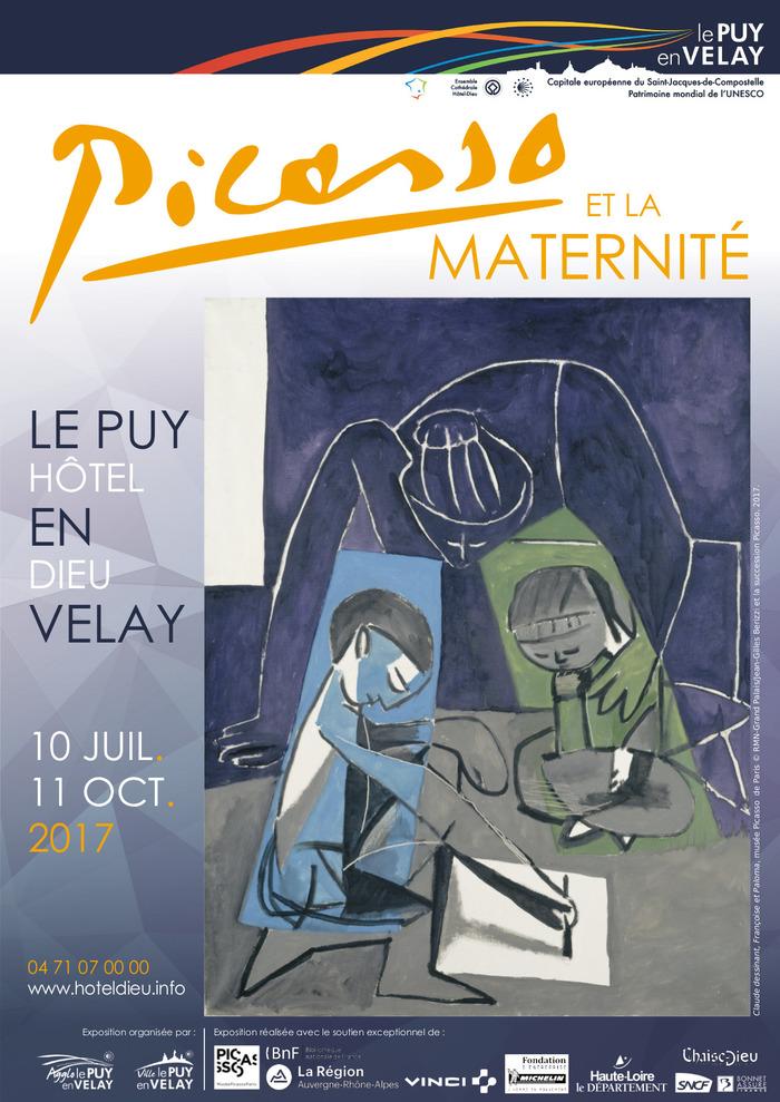 Crédits image : Claude dessinant, Françoise et Paloma, musée Picasso de Paris © RMN-Grand Palais/Jean-Gilles Berizzi et la succession Picasso, 2017.