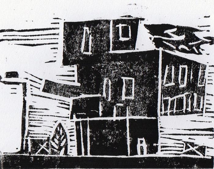 Crédits image : Un immeuble du quartier des tartres représenté par Imane.