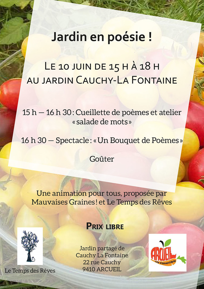 Po sie au jardin for Au jardin wedding package
