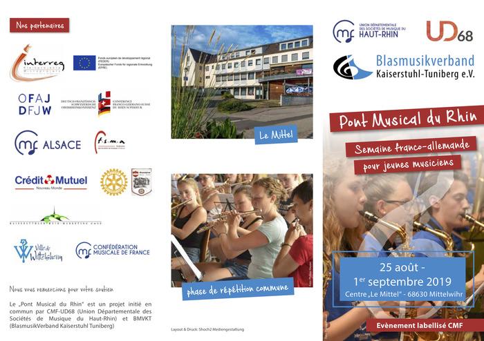 Pont Musical du Rhin / Semaine franco-allemande pour jeunes musiciens