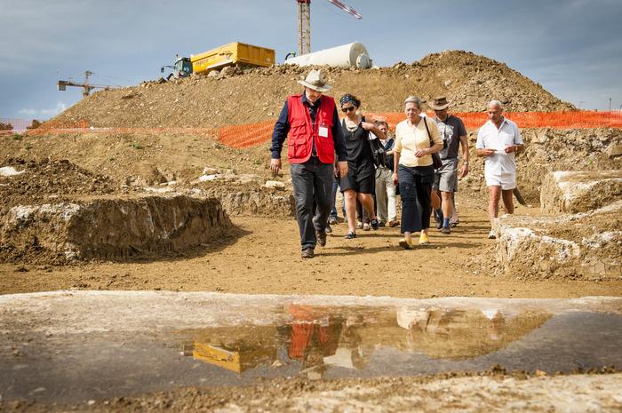 Journées du patrimoine 2018 - Portes ouvertes du chantier de fouilles archéologiques de l'Inrap à Meaux