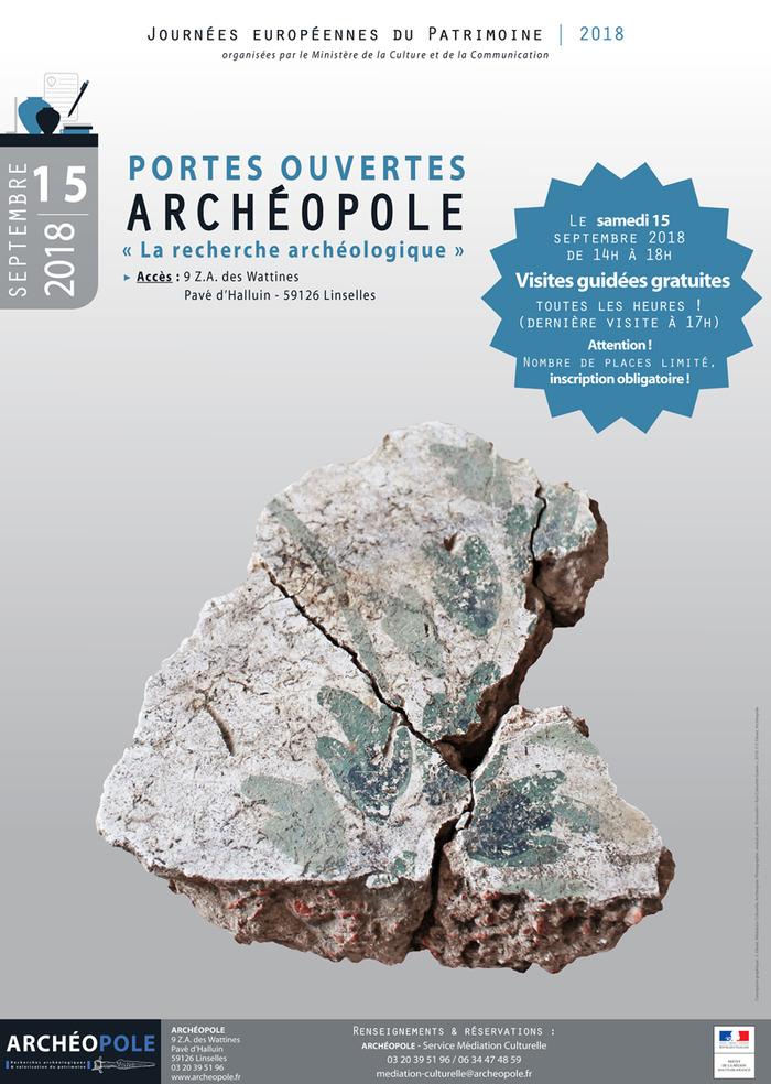 Journées du patrimoine 2018 - Visite guidée « La recherche archéologique »