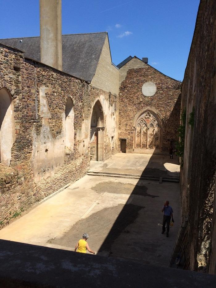 Journées du patrimoine 2018 - Portes ouvertes à l'abbatiale Saint-Jacques de Montfort