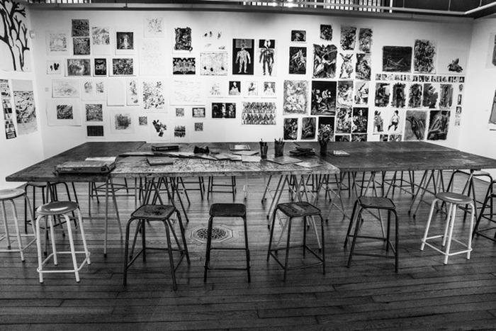 Journées du patrimoine 2018 - Visite guidée des ateliers de la Maison des Arts, ouverte exceptionnellement