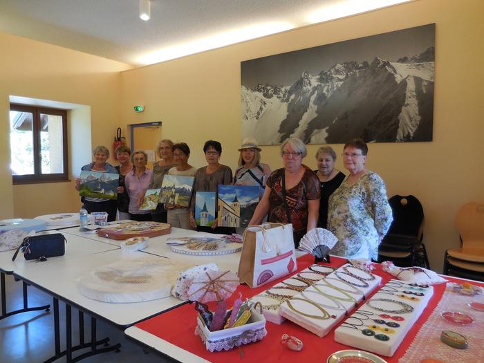 Journées du patrimoine 2018 - Portes ouvertes aux ateliers peinture et dentelles aux fuseaux.