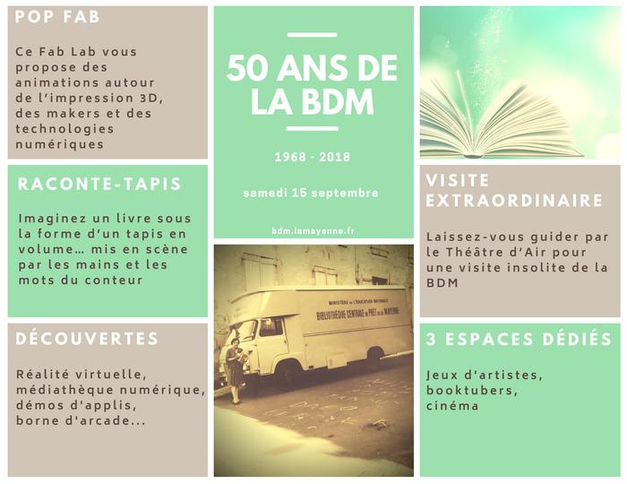 Journées du patrimoine 2018 - Portes ouvertes de la Bibliothèque départementale de la Mayenne