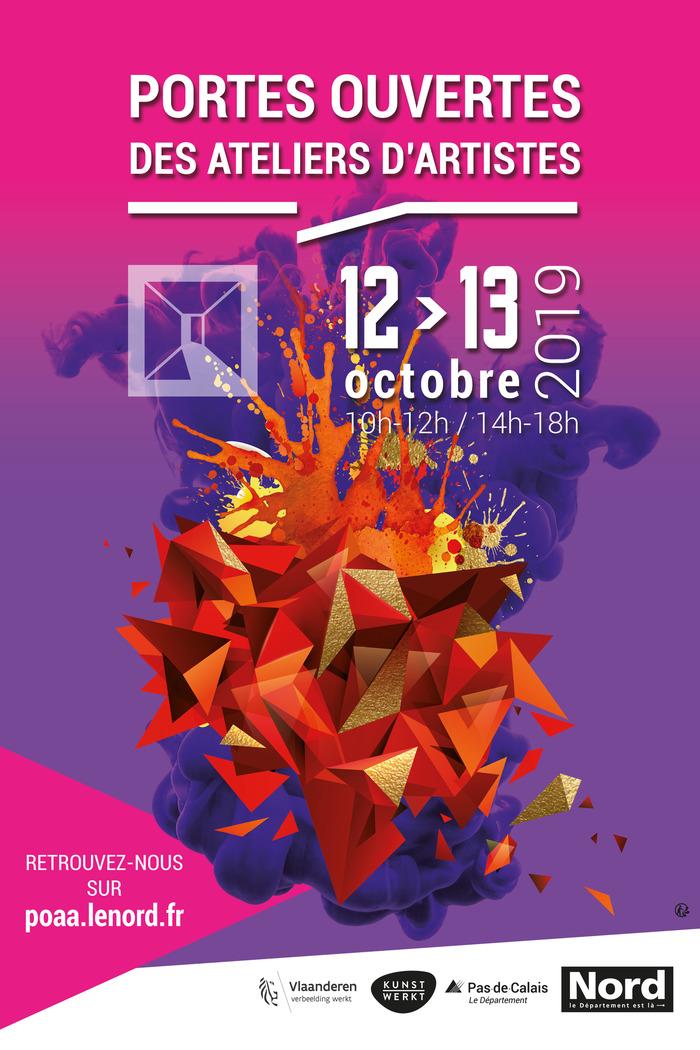 Portes Ouvertes des Ateliers d'Artistes des 12 et 13 octobre 2019
